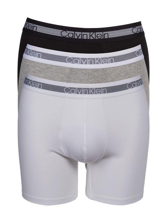 Calvin Klein Underwear - Cooling-bokserit 3-pack - GREY HEATHER/BLACK/WHITE | Stockmann - photo 1