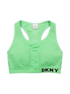 DKNY Sport - Seamless Logo Mesh Bra -urheiluliivit - SMT SPEARMINT | Stockmann