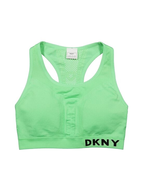 DKNY Sport - Seamless Logo Mesh Bra -urheiluliivit - SMT SPEARMINT   Stockmann - photo 1
