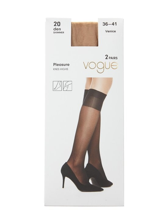 Vogue - Pleasure 20 den -polvisukat 2-pack - VENICE | Stockmann - photo 1