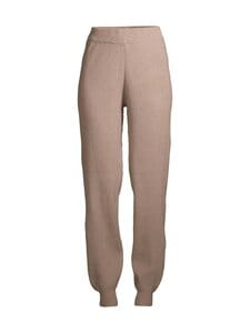 Pieces - PcSalsa HW Knit Pants -housut - NATURAL | Stockmann