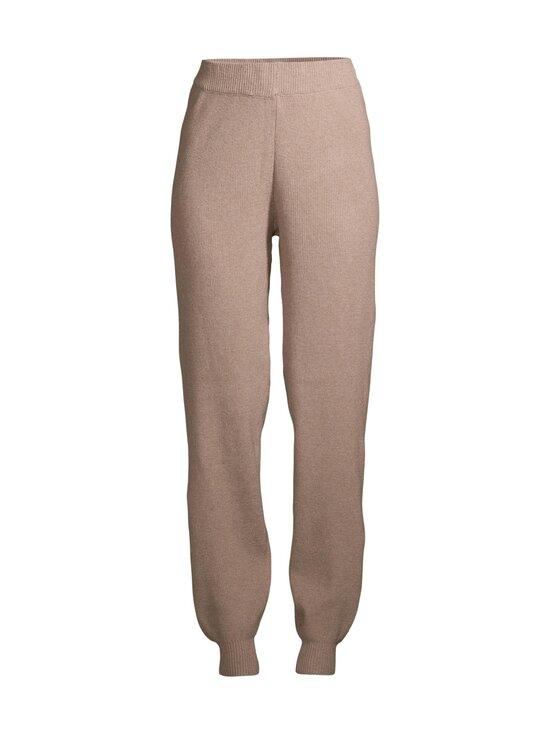Pieces - PcSalsa HW Knit Pants -housut - NATURAL   Stockmann - photo 1