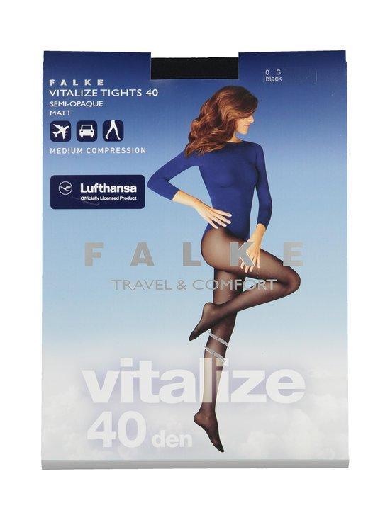 Falke - Vitalize 40 den -tukisukkahousut - 3009 BLACK | Stockmann - photo 1