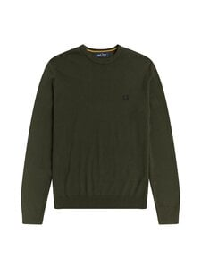 Fred Perry - CLASSIC-villasekoiteneule - 408 HUNTING GREEN | Stockmann