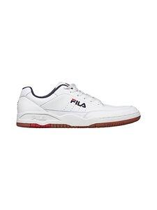 Fila - Town Classic -nahkasneakerit - 92K WHITE / FILA RED   Stockmann
