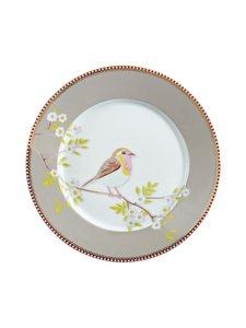 PIP Studio - Floral Early Bird -lautanen 21 cm - KHAKI | Stockmann