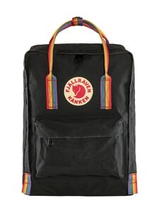 Fjällräven - Kånken Rainbow -reppu - 550-907 BLACK-RAINBOW PATTERN | Stockmann