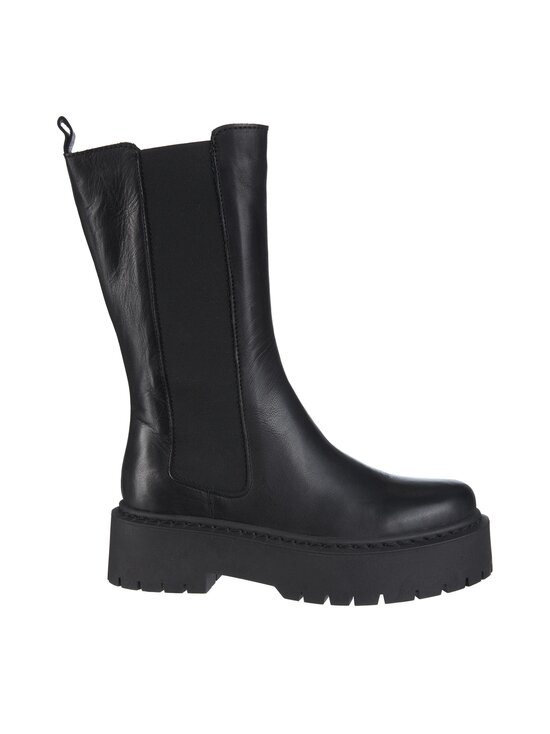 BIANCO - BiaDeb Long Boot -nahkasaappaat - 100 BLACK | Stockmann - photo 1