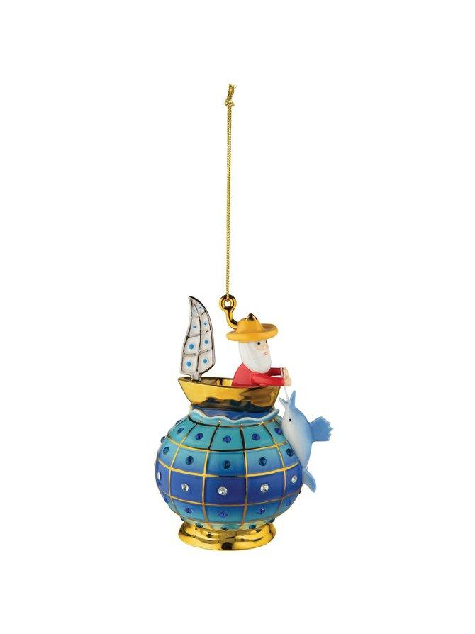 Faberjori Il Vecchio il Mare -joulukoriste