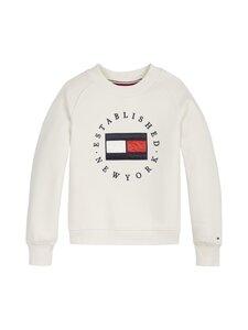 Tommy Hilfiger - Heritage Logo Crew Sweatshirt -collegepaita - Z00 IVORY PETAL   Stockmann