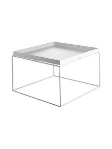 HAY - Tray-pöytä 60 x 60 x 35 cm - VALKOINEN | Stockmann