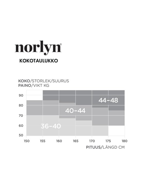 Norlyn - Shimmer Silky Control 30 den -sukkahousut - 9202 POWDER | Stockmann - photo 2