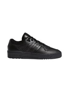 adidas Originals - Rivalry Low -nahkatennarit - CBLACK/CBLACK/FTWWHT | Stockmann