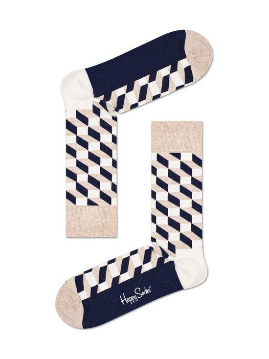 Happy Socks - Filled Optic -sukat - 8000-BEIGE | Stockmann - photo 1