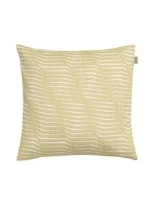 Gant Home - Trace Cushion -tyynynpäällinen 50 x 50 cm - 370 ALFALFA GREEN | Stockmann