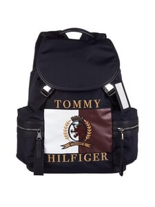 Tommy Hilfiger Collection - Hcm Crest and Flag Backpack -reppu - DW5 DESERT SKY | Stockmann