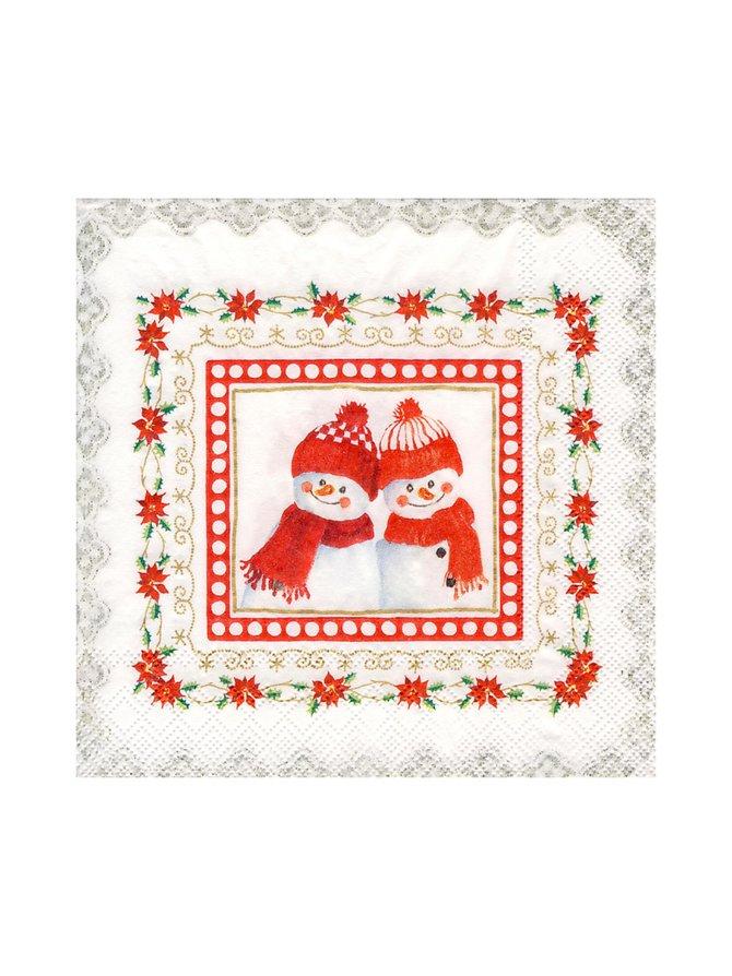 Lovely Little Fellows  -servetti 33 x 33 cm