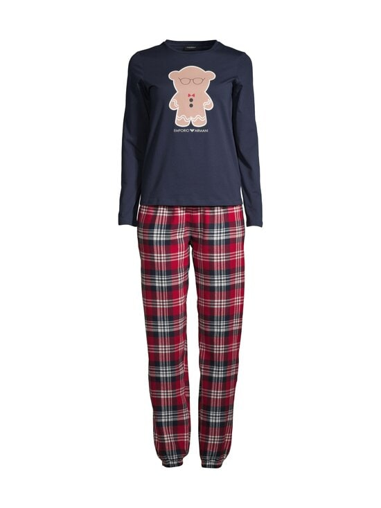 Emporio Armani - Pyjama - 01937 CHECK_MARINE BLUE | Stockmann - photo 1