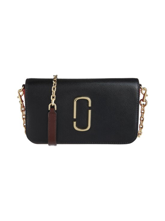 Marc Jacobs - The Snapshot Wallet On A Chain -nahkalaukku - 011 BLACK/RED | Stockmann - photo 1