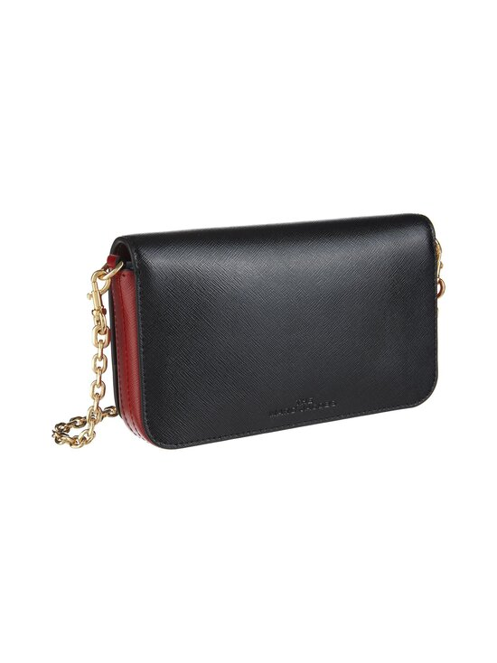 Marc Jacobs - The Snapshot Wallet On A Chain -nahkalaukku - 011 BLACK/RED | Stockmann - photo 2