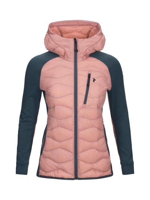 W Helium Hybrid Hooded Jacket -takki