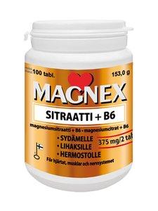 Vitabalans - Magnex sitraatti 375 mg + B6 -magnesiumsitraatti-B6-ravintolisä, 100 tablettia - null | Stockmann