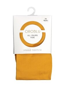 Oroblu - All Colors 50 den -sukkahousut - YELLOW 10 | Stockmann