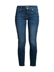 7 For All Mankind - Mid Rise Roxanne Crop Bair Duchess -farkut - MID BLUE | Stockmann