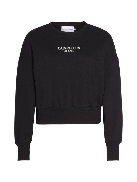 Calvin Klein Jeans - Institutional Back Logo -collegepaita - BAE CK BLACK | Stockmann - photo 1