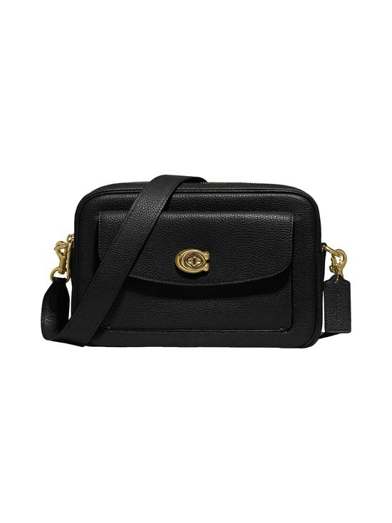Coach - Cassie Camera Bag -nahkalaukku - B4/BLACK   Stockmann - photo 1