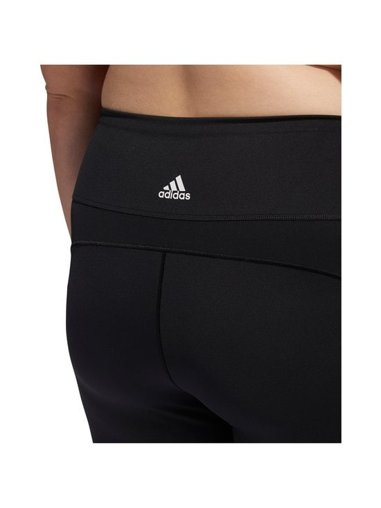 adidas Performance - Believe This 3-Stripes 7/8 Plus Size -treenitrikoot - BLACK/WHITE | Stockmann - photo 6