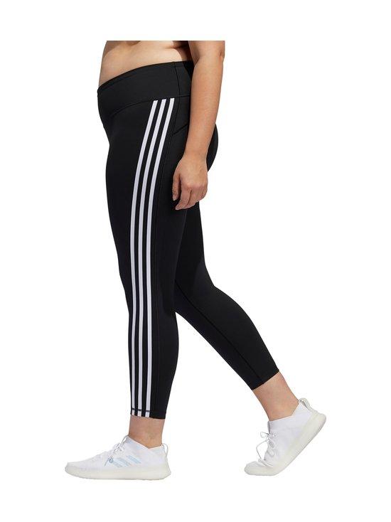 adidas Performance - Believe This 3-Stripes 7/8 Plus Size -treenitrikoot - BLACK/WHITE   Stockmann - photo 7