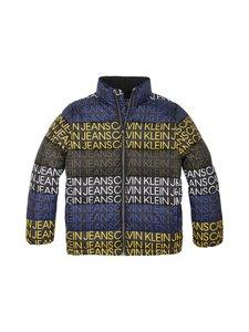 Calvin Klein Kids - Puffer Jacket -toppatakki - 0GN CK BLACK REPEAT LOGO | Stockmann
