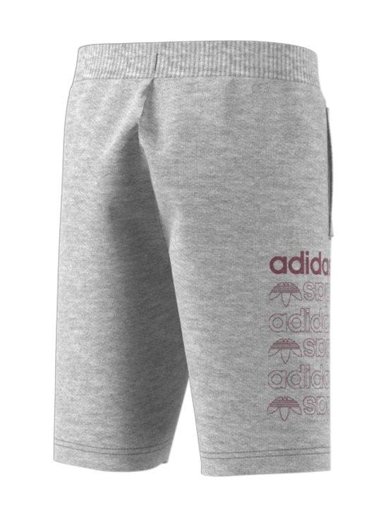 adidas Originals - Linear Logo -collegeshortsit - MEDIUM GREY HEATHER/SCARLET | Stockmann - photo 2