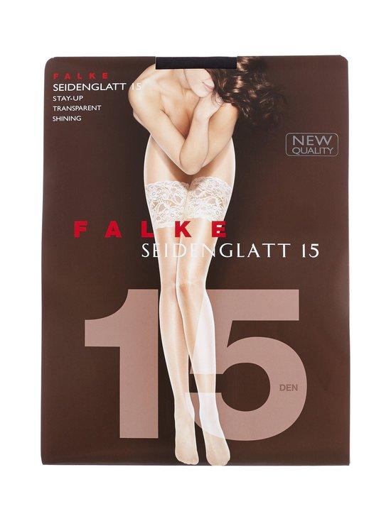 Falke - Seidenglatt-stay-up-sukat 15 den - BLACK (MUSTA) | Stockmann - photo 1