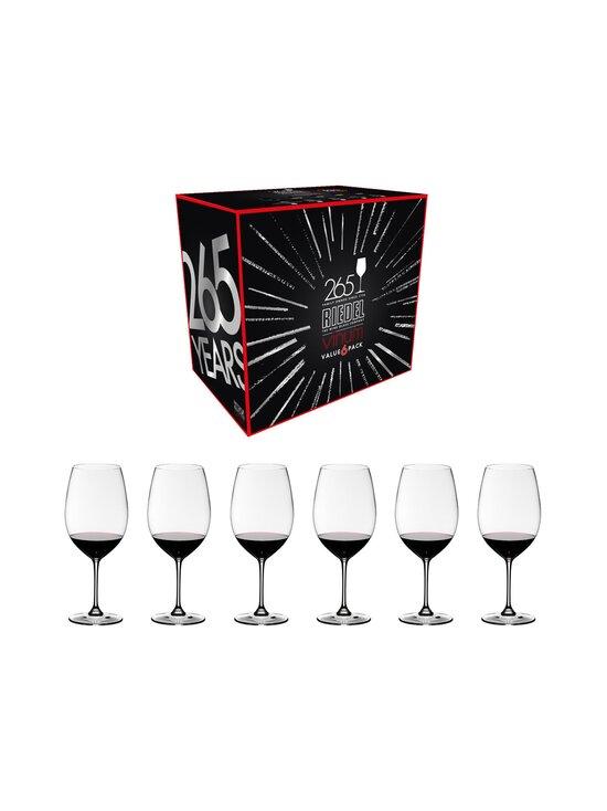 Riedel - Vinum Cabernet Sauvignon/Merlot (Bordeaux) -viinilasi 6 kpl - NOCOL | Stockmann - photo 1