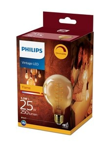 Philips - Vintage LED Classic 25W E27 -lamppu - GOLD | Stockmann