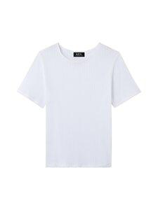 A.P.C - Elsie T-Shirt -paita - AAB WHITE   Stockmann
