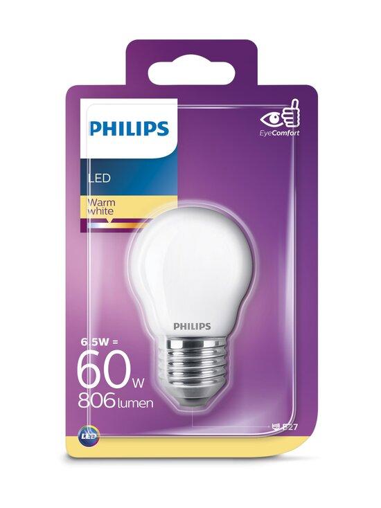 Philips - LED 6,5W E27 P45 -lamppu - WHITE | Stockmann - photo 1