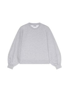 Ganni - Software Isoli Sweatshirt -collegepaita - PALOMA MELANGE | Stockmann