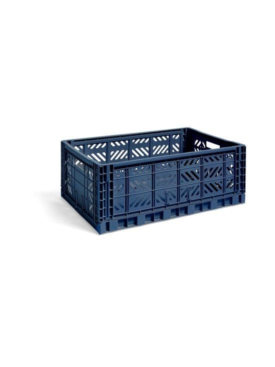 HAY - Colour Crate L -laatikko 60 x 40 x 22 cm - NAVY | Stockmann - photo 1