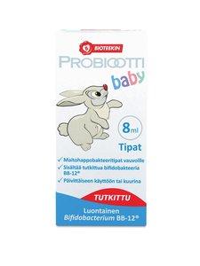 Bioteekki - Probiootti Baby -maitohappobakteeritipat 8 ml - null | Stockmann
