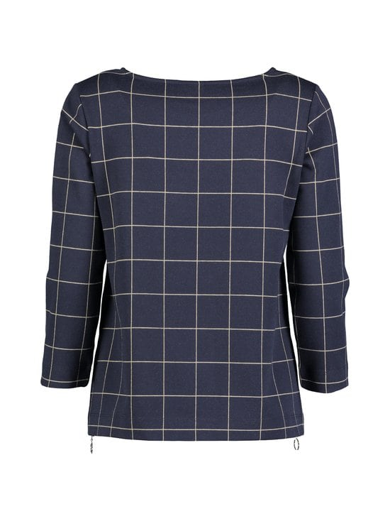 NOOM - Emma-pusero - DK.NAVY/BEIGE CHECK | Stockmann - photo 2