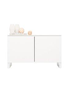 Lundia - Fuuga-tv-taso 48 x 60 x 92 cm - WHITE PAINTED MDF/WHITE METAL | Stockmann