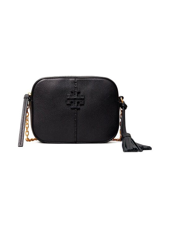 Tory Burch - McGraw Camera Bag -nahkalaukku - 001 BLACK | Stockmann - photo 1