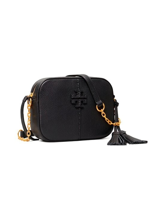 Tory Burch - McGraw Camera Bag -nahkalaukku - 001 BLACK | Stockmann - photo 2