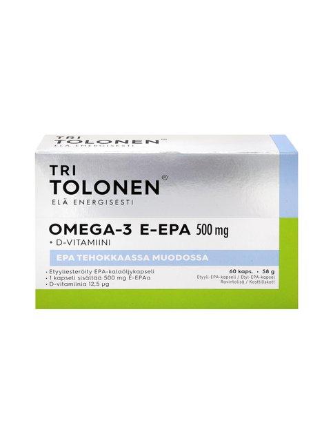 Omega-3 E-Epa 500 mg 60 kpl