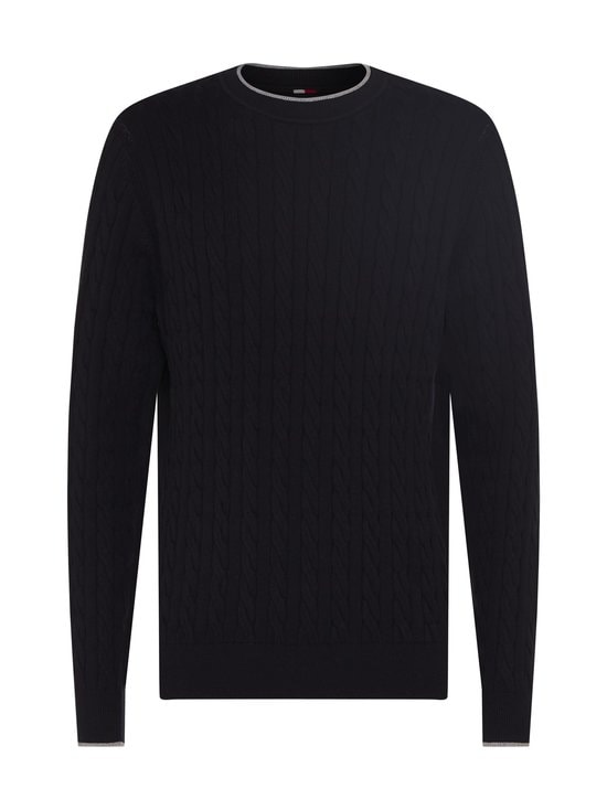 Tommy Hilfiger Tailored - Cable Crew -collegepaita - DW5 DESERT SKY | Stockmann - photo 1