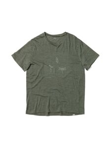 Houdini - M's Activist Tee -paita - 106 WILLOW GREEN | Stockmann