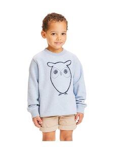 Knowledge Cotton Apparel - Lotus Owl Sweat -collegepaita - 1259 SKY WAY MELANGE | Stockmann